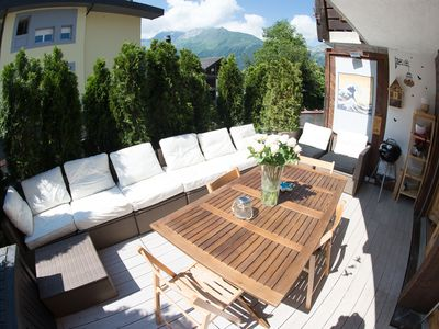 Photo for Comfy family apartment in Jungfrau region - ski resort Wengen