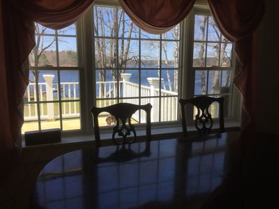 Photo for Enjoy sunsets from your private deck, gazebo or pool patio. Walk to Ferry beach.