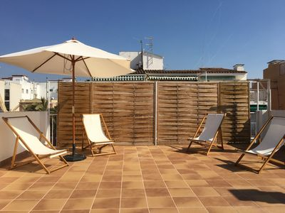 Photo for Duplex in the center of Sitges / 350 meters from the beaches