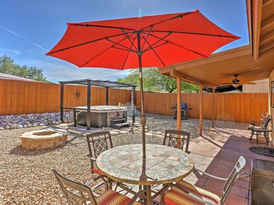 Photo for Lovely Tucson House w/Fire Pit & Optional Hot Tub!