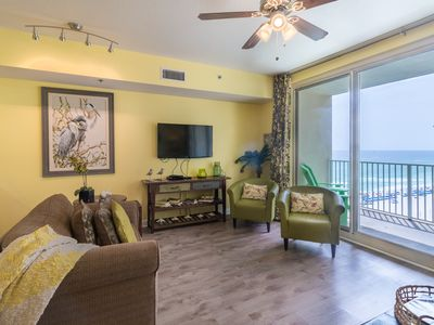 Photo for Shores of Panama 1027 -2 Bd, Sleeps 6. Sunset View! Free Fun! Free Beach Chairs!