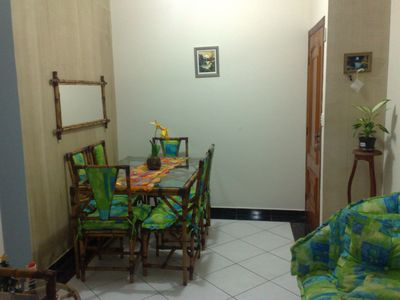 Photo for Apartment 02 Bedrooms 100mts From the Beach; air conditioning; wifi