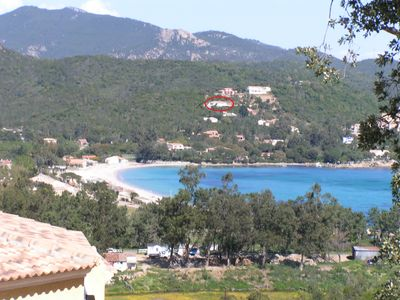 Photo for Superb villa with sea view infinity pool with stunning Favone