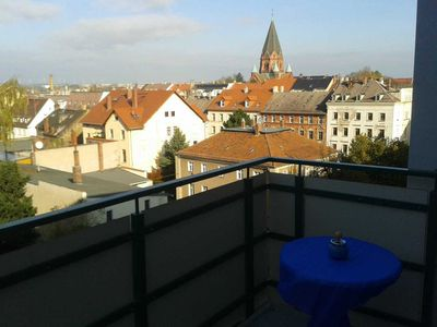 Photo for Apartment III. OG, 52m², 1 room with balcony - Old Fire Station Görlitz City