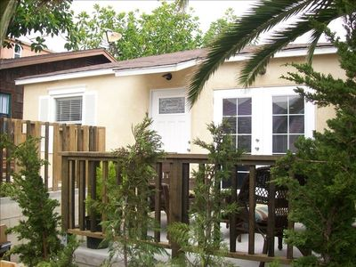 Photo for Cute Cottage, Partial Oceanview, Decks, Steps to Beach, Parking for 2+