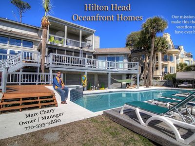 Photo for 9 Dinghy - Spacious Oceanfront Home, 6Br, 5.5Ba