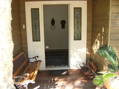 Photo for SYDNEY BUSHLAND WATERFRONT COTTAGE - just 50 klms from Sydney CBD