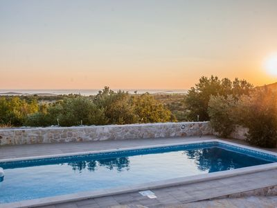 Photo for Beautiful Villa Gospel, in Dalmatia, with a Pool
