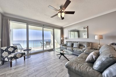 Gulf front living room!