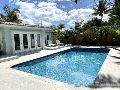 Photo for Super Private 2bed / 2 bath with HEATED pool.