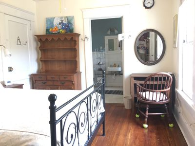 Photo for Breezy, Private upstairs apt historic 1918 house, Lake Claire, Candler Park