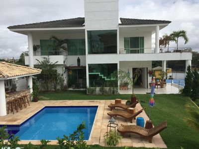Photo for Beautiful house in Villas do Atlntico - Christmas, New Year and Carnival