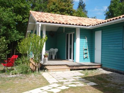 Photo for Lège Cap Ferret in Lege Wooden house 390 € / weekBass up to 6