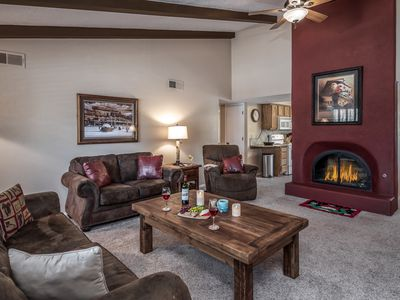 Photo for Cozy Cabin on Cree Meadows Golf Course w/ Fireplace & View of 10th Fairway