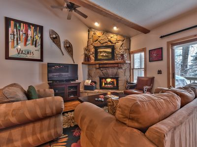 Photo for 3 Bedroom, 3.5 Bath Townhouse Right off the Trail System - Close to Ski - Great Location!