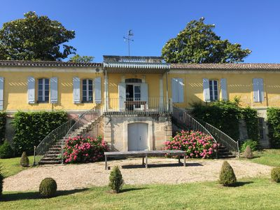 Photo for Chateau Hermitage Near Saint Emilion at the foot of the Dordogne