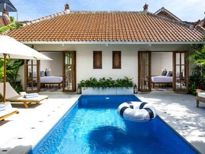 Photo for brand new traditional Balinese style, French influenced luxury villa