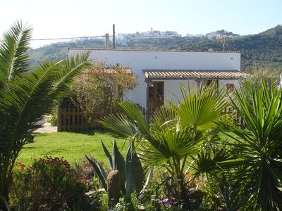 Photo for Cottage set below Vejer with spectacular views and Large Pool near to beaches