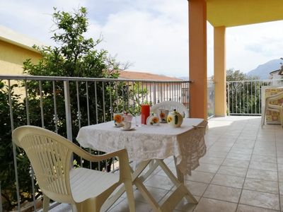 Photo for Apartment in La Caletta with Internet, Garden, Balcony, Washing machine (305255)