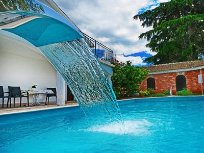 Photo for Villa Lanima with Private Pool and Sea View