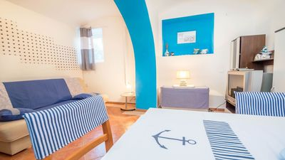 Photo for Marvelously furnished apartment Matilde situated in a Mediterranean environment