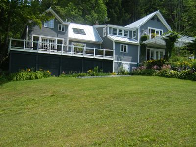 Photo for 60 Acres with Private Golf Course And Swimming! Skiing And Snowboarding Too!