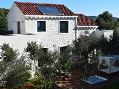Photo for New Villa FraMar with outdoor jacuzzi immersed into olive trees