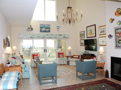 "Photo for ""Port Side Villas"" Gulf Front Townhome! Pool,Tennis, Beach Trolley"