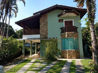 Photo for Cozy and cozy beach house in gated community, Guaratu beach