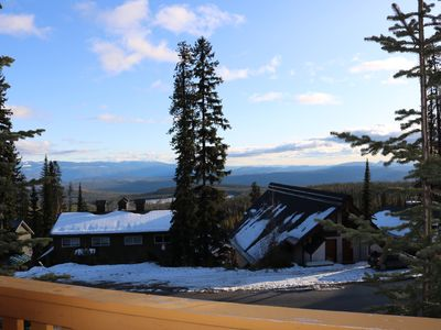 Photo for Cozy cabin at Big White with a private hot tub