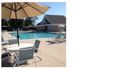 Enjoy a beverage by the pool, lay out on a lounge chair or take a dip!
