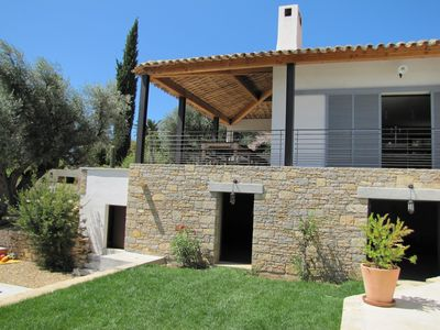 Photo for Large Family House with Pool, 5mn walk from the beach Lecques