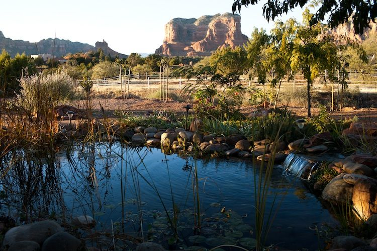 Sedona ranch casita with acres of privacy vrbo for Az pond and pool