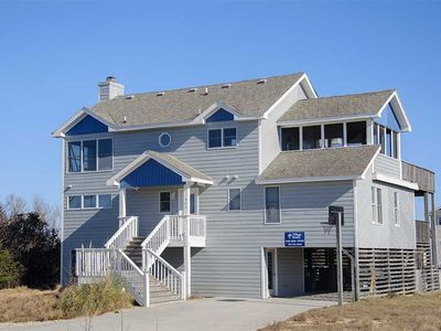 Photo for Whalehead Beach, oceanside with private pool and hot tub, rec room with pool table.