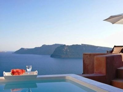 Photo for Nereid Nymphs Villa, Grand Villa  Oia Santorini, 2 Bedroom, 2 Bathrooms, Jaccuzi, Up to 5 Guests, A unique experience of unparalleled beauty !