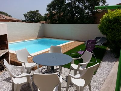 Photo for Nice house in a nice wine village Pézenas / Nizas with pool