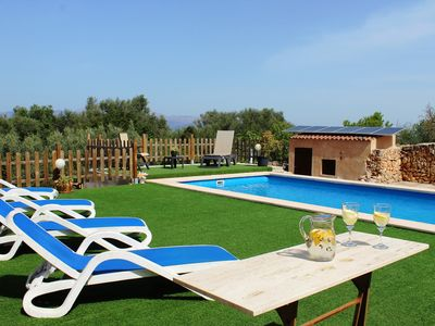 Photo for Villa for 4+1 guests with pool, bbq, free wifi and views