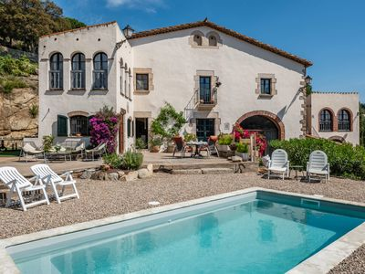 Photo for Mas Toi - luxyry typical catalan massa with pool and wonderful views