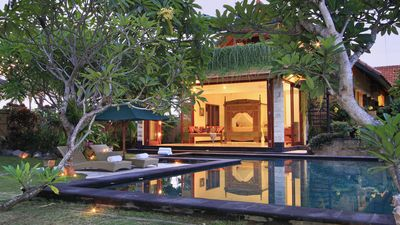 Photo for Ubud Villa - Casual elegance, Private, Quiet w Pool, surrounded by rice fields
