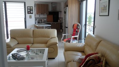 Photo for Near beach-port and city center Apartment 3 rooms + very sunny loggia