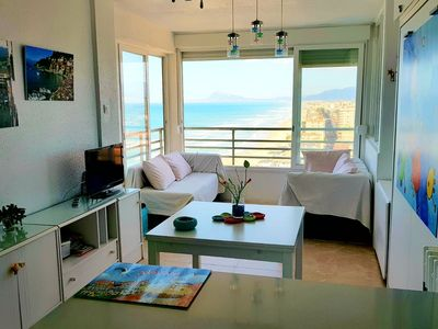 Photo for Gandia, stunning ocean views, beachfront