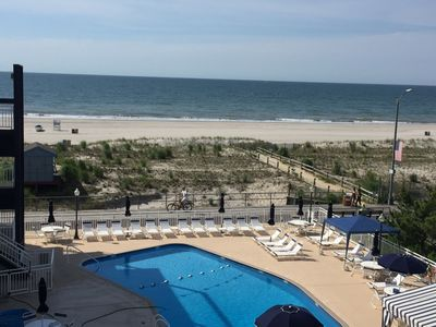 View from the balcony!