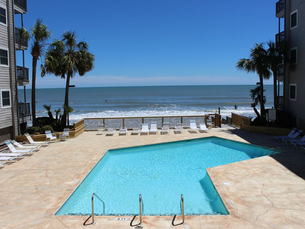 Beautiful oceanfront resort condo 3 bed bath in garden city beach garden city beach myrtle for Garden city myrtle beach hotels