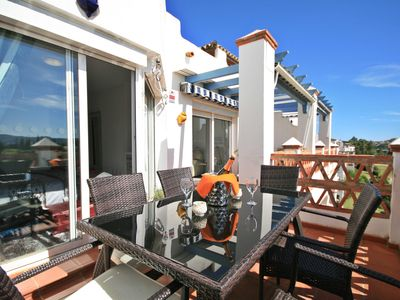 Photo for Stunning Penthouse on Mijas golf course with spectacular mountain views