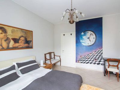 Photo for Angelica House is 10 meters from metro Pasteur, Free Parking, Free Wi-Fi, 2 balconies