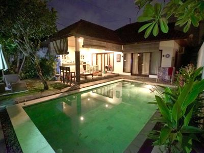 Photo for CENTRAL SEMINYAK 2BR MiCasa Villa-BIG PRIVATE POOL
