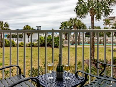 Photo for Beach Club 114: 2  BR, 2  BA Condominium in Tybee Island, Sleeps 6