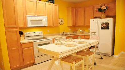 Photo for Spacious Townhouse w Private Hot Tub - Close to Disney!!