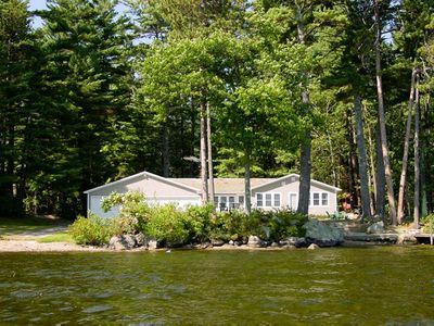 Photo for Pet friendly waterfront home with beautiful views perfect for lake getaway