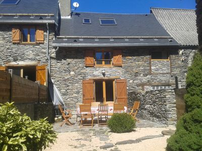 Photo for TYPICAL CHALET PYRENEES GRANGE, CLASS 4 * GARDEN FENCE, 5 MIN DE LUCHON